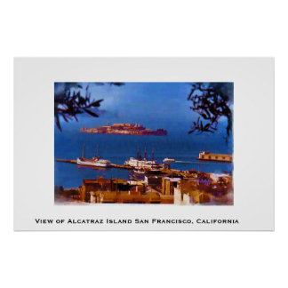 Alcatraz Island San Francisco, California Poster