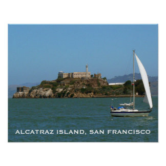 Alcatraz Island, San Francisco, California Poster