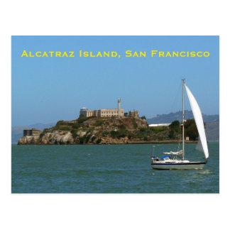 Alcatraz Island San Francisco Postcard