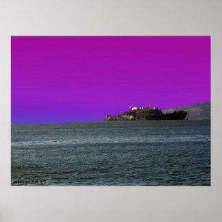 Alcatraz Island San Francisco Poster