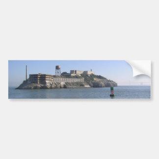Alcatraz (la roca) del agua de San Francisco Pegatina Para Coche