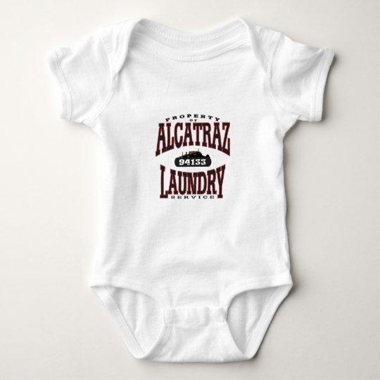 alcatraz laundry baby bodysuit
