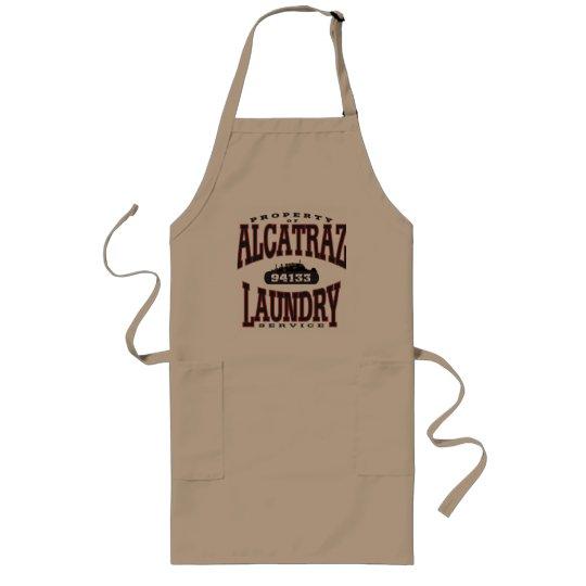 alcatraz laundry long apron