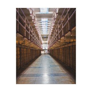 Alcatraz Impresión En Lona