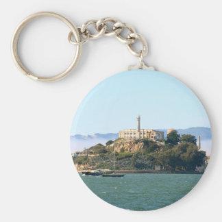Alcatraz Llavero Redondo Tipo Pin