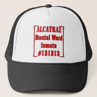 Alcatraz Mental Ward Inmate #131313 Trucker Hat