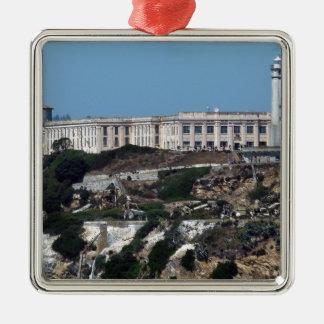 Alcatraz Metal Ornament