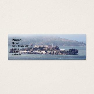 Alcatraz Mini Business Card