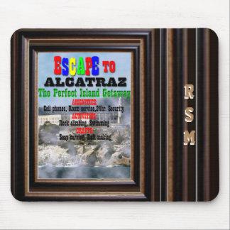 Alcatraz monogrammed mouse pad