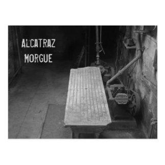 Alcatraz Morgue Postcard