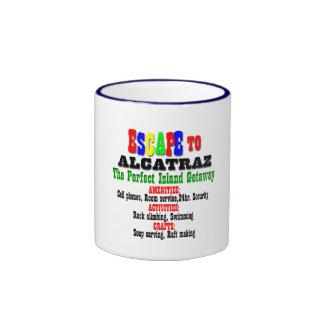 Alcatraz Ringer Coffee Mug