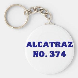 Alcatraz No. 374 Keychain