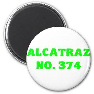 Alcatraz No. 374 Magnet