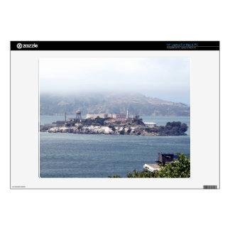 Alcatraz Portátil Calcomanías