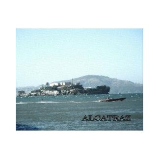 Alcatraz    Prison Canvas Print