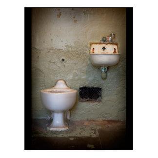 Alcatraz Prison Cell Postcard