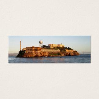 Alcatraz Prison Mini Business Card