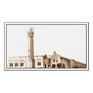 Alcatraz Prison (Sepia Tones) Double-Sided Standard Business Cards (Pack Of 100)
