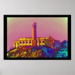 Alcatraz psicodélico posters
