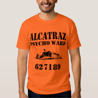 Alcatraz Psycho Ward (Personalized) Tshirt