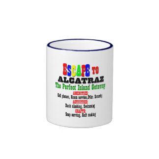 Alcatraz Ringer Mug