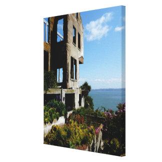 Alcatraz Ruin Canvas Print