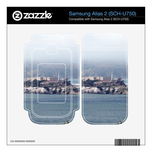 Alcatraz Samsung Alias 2 Calcomanía