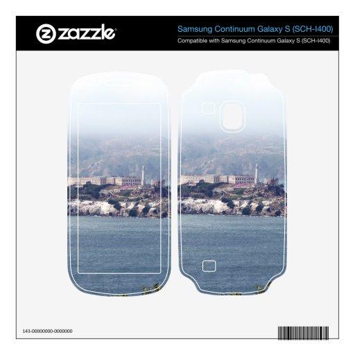 Alcatraz Samsung Continuum Decals