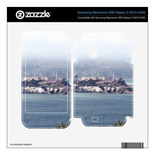 Alcatraz Samsung Mesmerize Skins