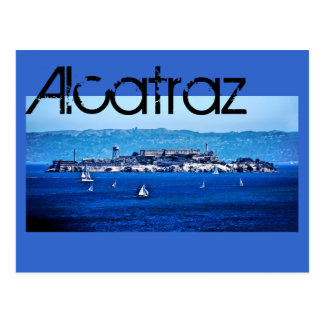 Alcatraz, San Francisco, California, U.S.A. Postcard