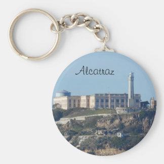 Alcatraz- San Francisco Llavero Redondo Tipo Pin