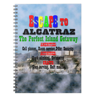 Alcatraz Spiral Notebook