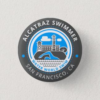 Alcatraz Swimmer button