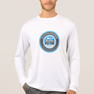 Alcatraz Swimmer men's Sport-Tek long sleeve T-Shirt