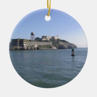 Alcatraz (The Rock) off the water of San Francisco Ornament