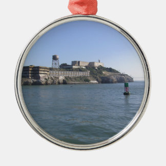 Alcatraz (The Rock) off the water of San Francisco Ornaments