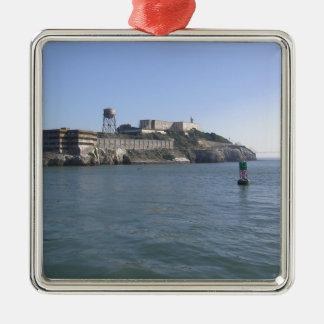 Alcatraz (The Rock) off the water of San Francisco Christmas Tree Ornaments
