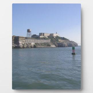 Alcatraz (The Rock) off the water of San Francisco Photo Plaque