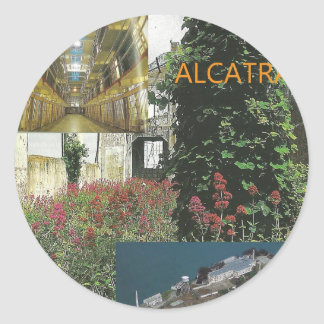 Alcatraz Tour Item Classic Round Sticker
