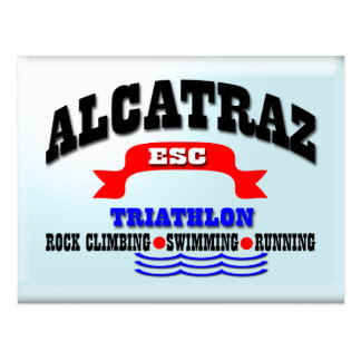 Alcatraz Triathlon Postcard