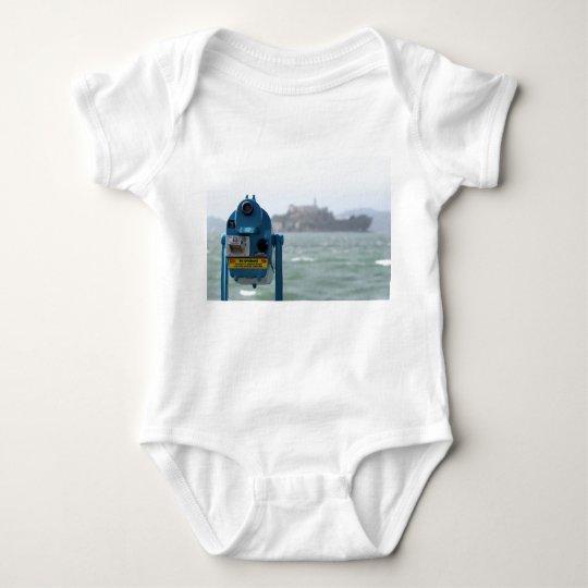 Alcatraz View Baby Bodysuit