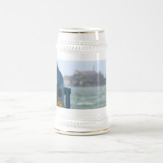 Alcatraz View Beer Stein
