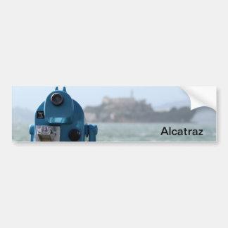 Alcatraz View Bumper Sticker