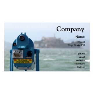Alcatraz View Business Card Template