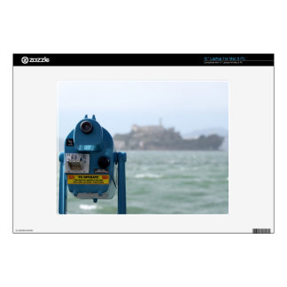 Alcatraz View Decals For Laptops