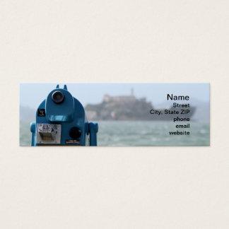 Alcatraz View Mini Business Card