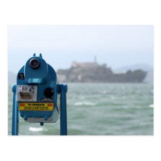 Alcatraz View Postcard