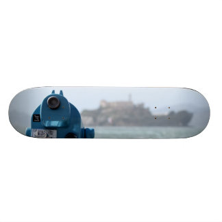 Alcatraz View Skateboard Deck