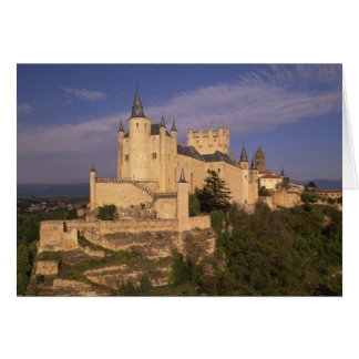 Alcazar and Cathedral, Segovia, Castile Leon, Card