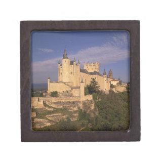 Alcazar and Cathedral, Segovia, Castile Leon, Keepsake Box